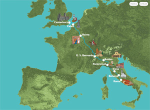 SEI Mappa Francigena